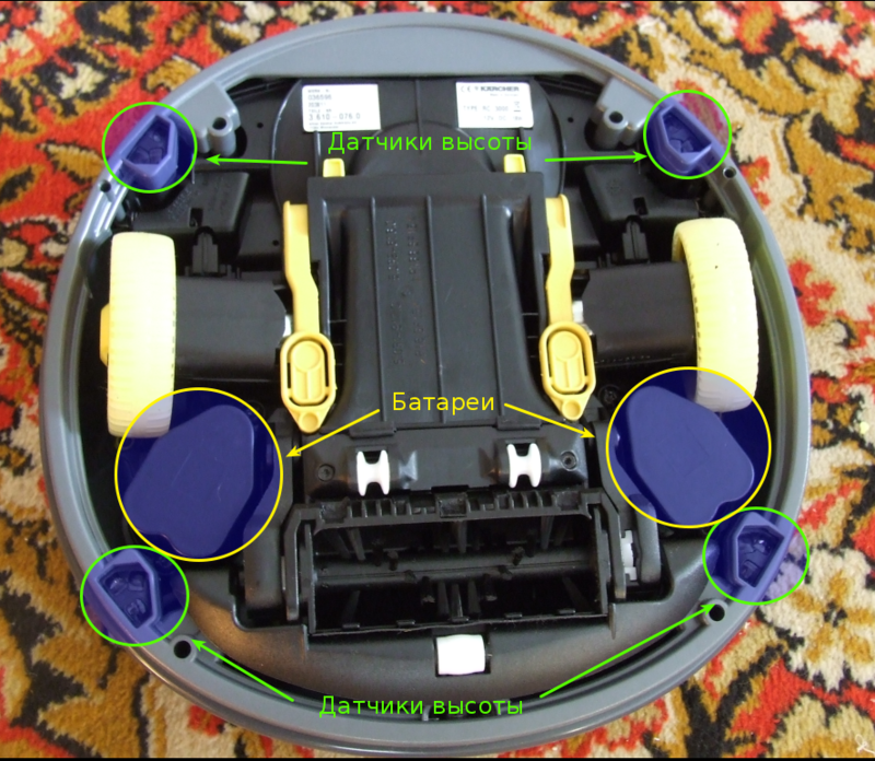 Karcher Rc 3000 инструкция - фото 3