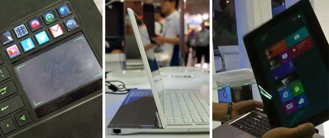 Не ультрабуком единым: разные необычные ноуты на Computex 2012