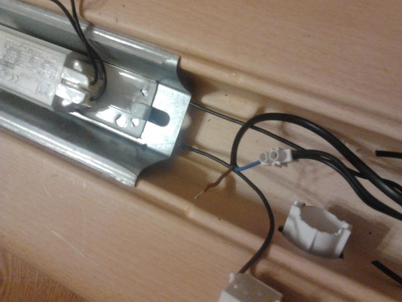 Как подключить люминисцентные