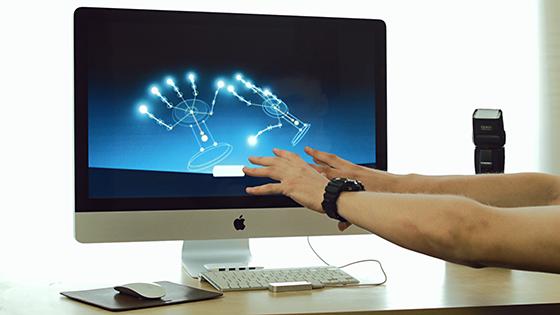Leap Motion-Контроллер захвата движений для PC/Mac