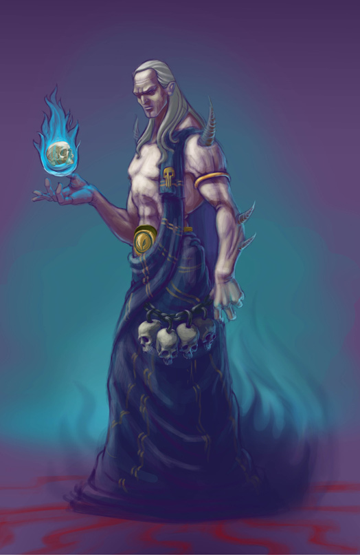 Hades concept art  God of the underworldHades God Of The Underworld Drawing