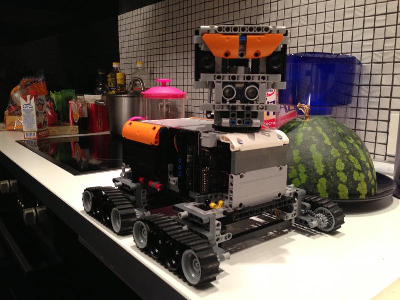 Создание автономного робота Frank. Часть третья