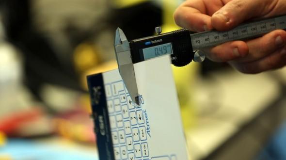 Очень тонкая и гибкая беспроводная клавиатура