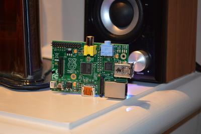 Распределенный музыкальный плейер на Raspberry Pi