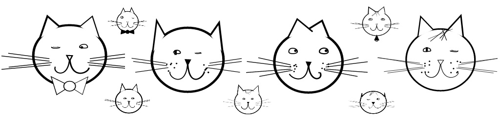 рисунок кошки на лице у ребенка