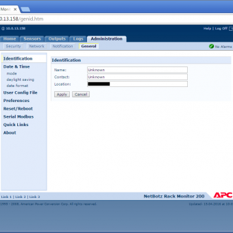 Comparison of Vutlan SC8100 and APC NetBotz Rack Monitor 200