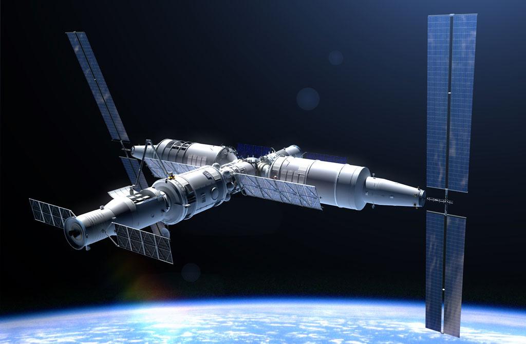 Космические станции следующего десятилетия: Китай