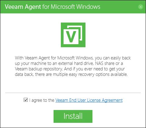 Новые возможности Veeam Agent for Microsoft Windows 2.0 (в бесплатной и платных версиях)