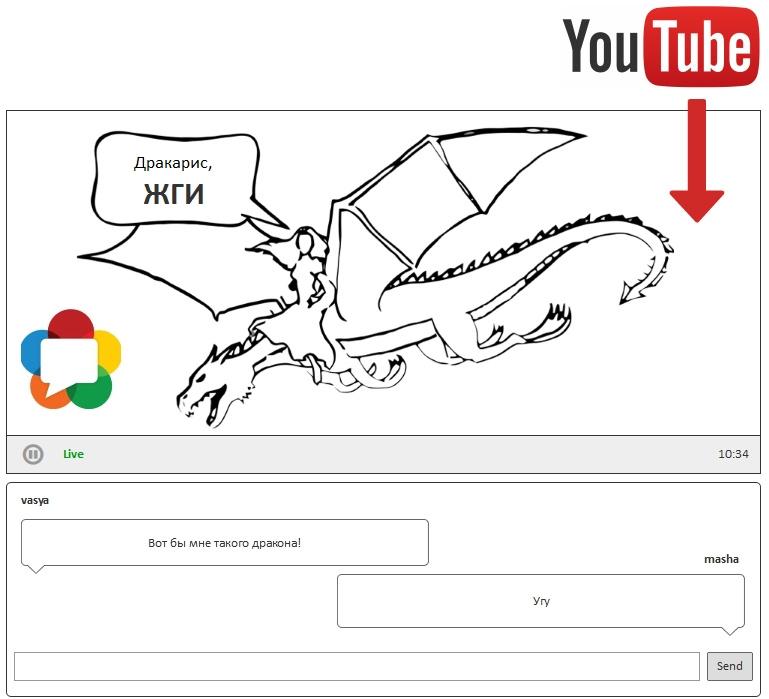 Тянем ролик с YouTube и раздаем по WebRTC в реалтайме