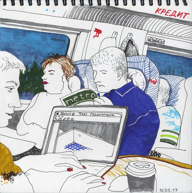 мои впечатления о поездке на поезде Сапсан из Питера в Москву
