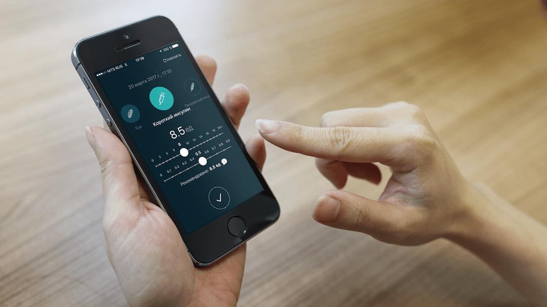 Разработка интерфейса приложения для пожизненного использования на примере мобильного дневника диабета