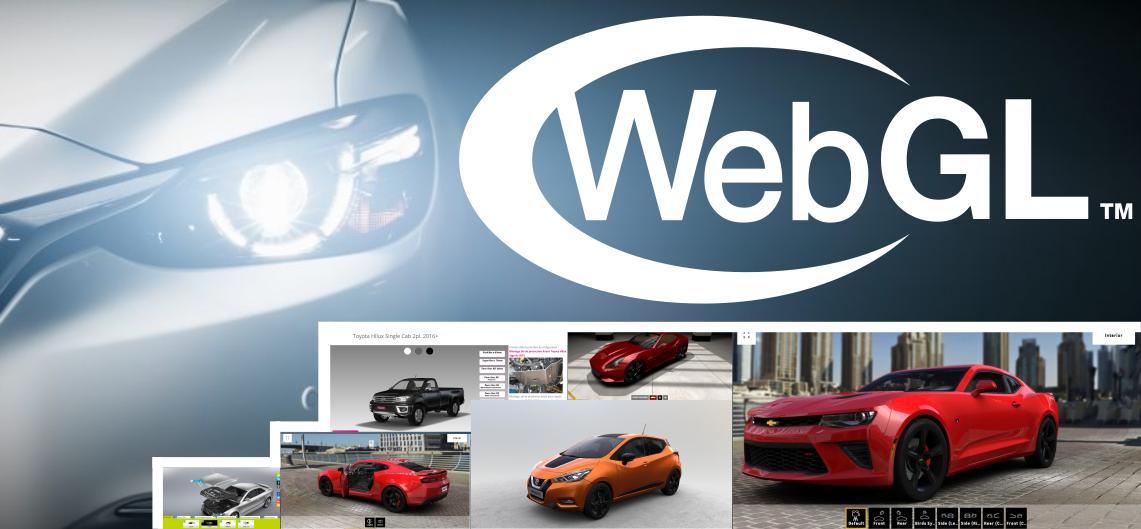 WebGL рулит! Автопром в 3D
