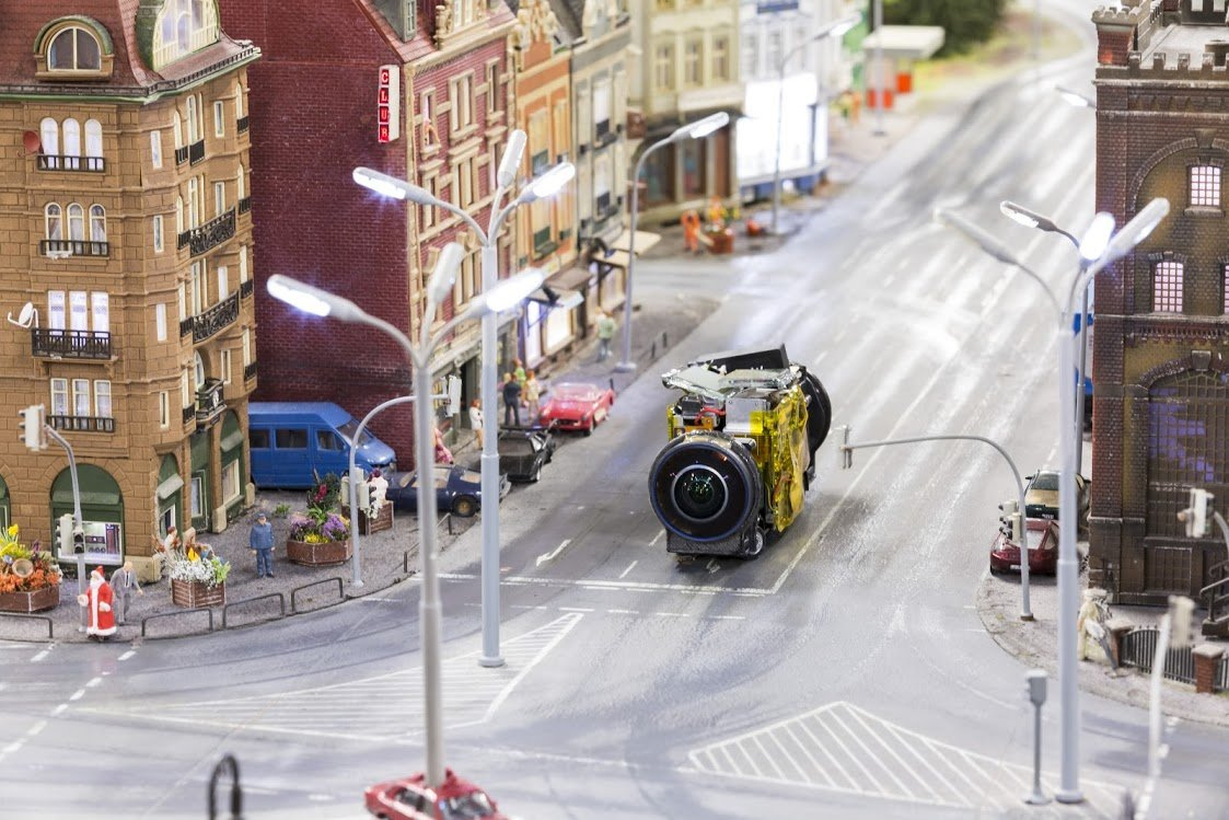 Google Street View в миниатюре: как мини-технологии работают в мини-мире