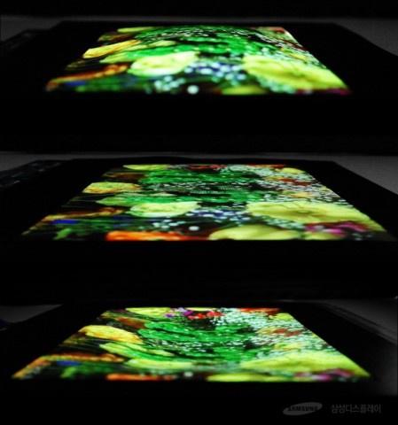 гибкие экраны от Samsung