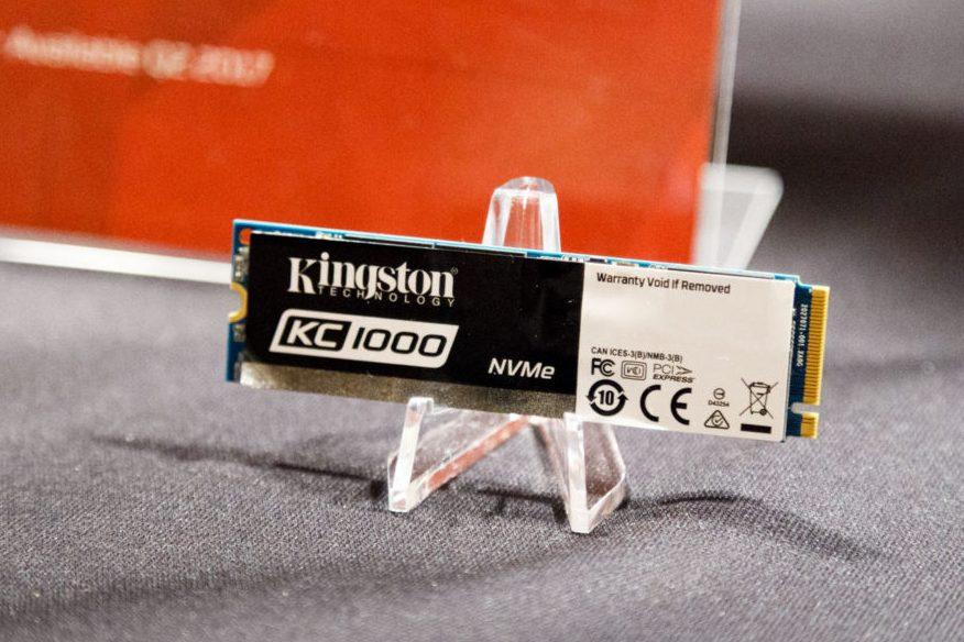Кому SSD со скоростью чтения 2,7 Гбайт/с? Встречайте флагманский Kingston KC1000