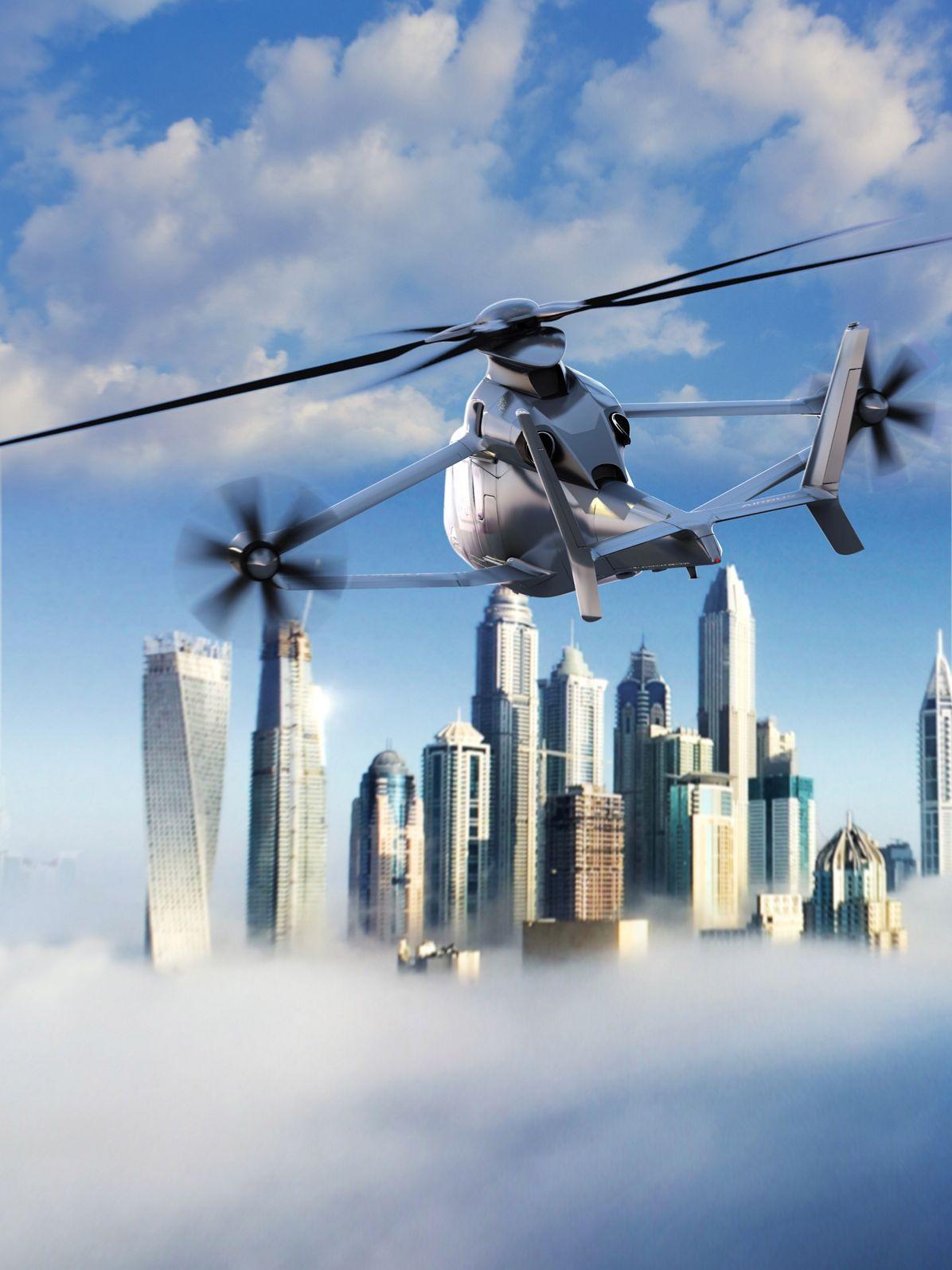 [Из песочницы] Airbus Racer — вертолет, сочетающий в себе достоинства вертолета и самолета