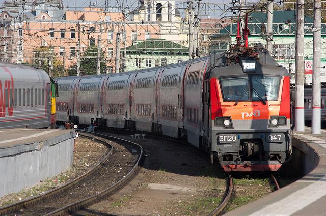 двухэтажный поезд спб москва