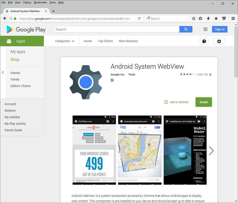 Web-приложения в Android без Cordova, Phonegap и SMS