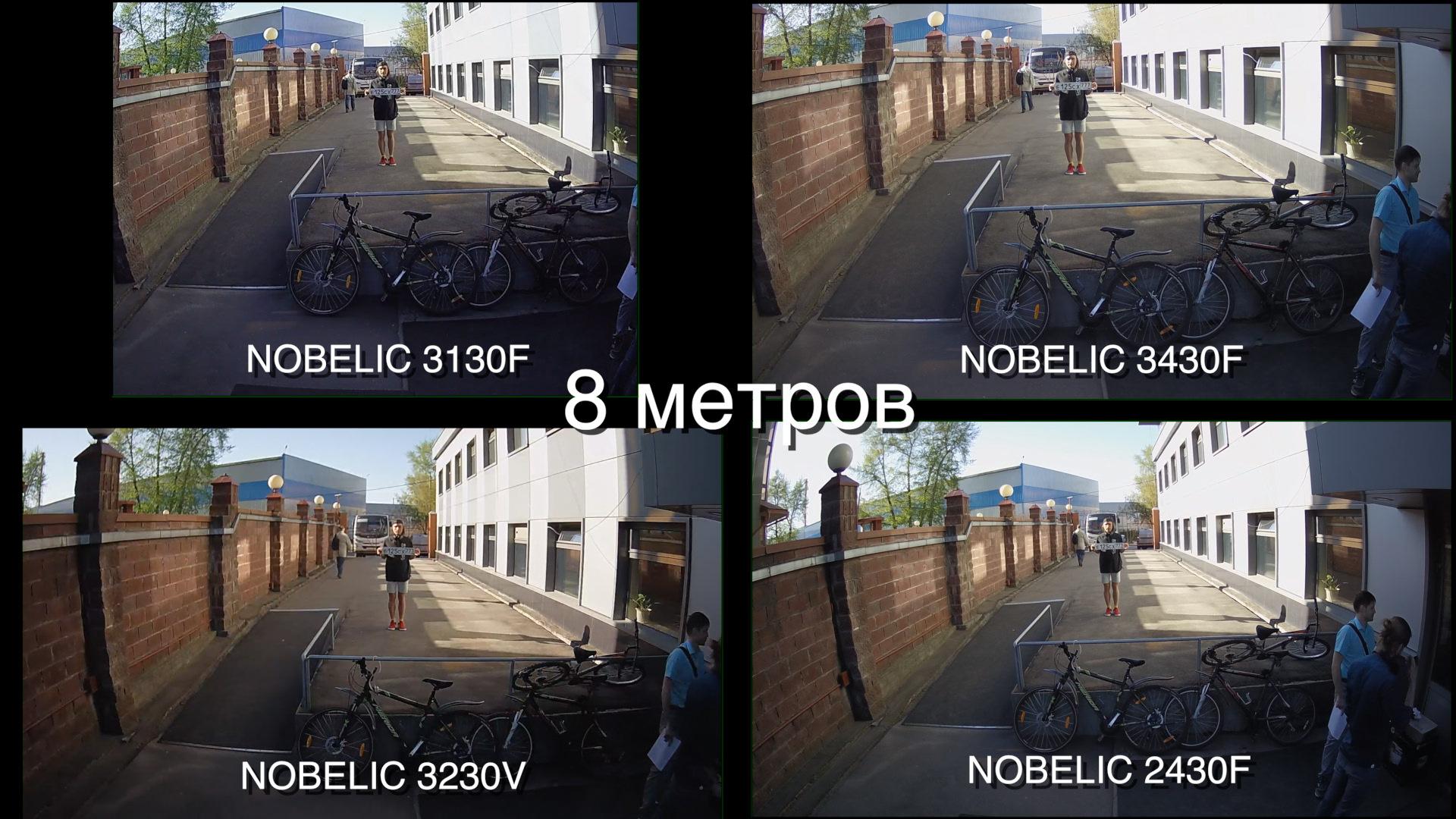 Тест четырех уличных: сравнение IP-камер Nobelic для бизнеса