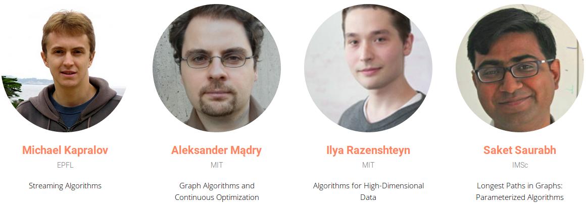 Материалы студенческой школы «Recent Advances in Algorithms»
