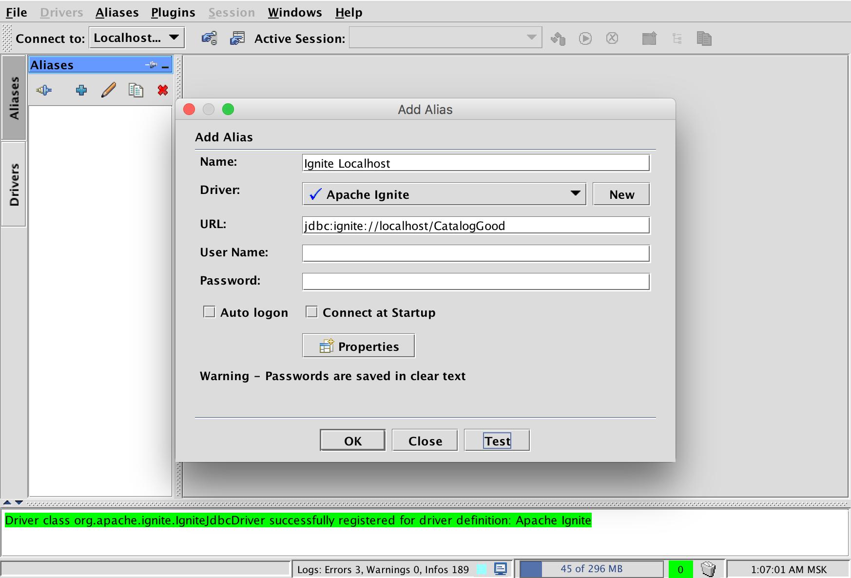 add alias screenshot