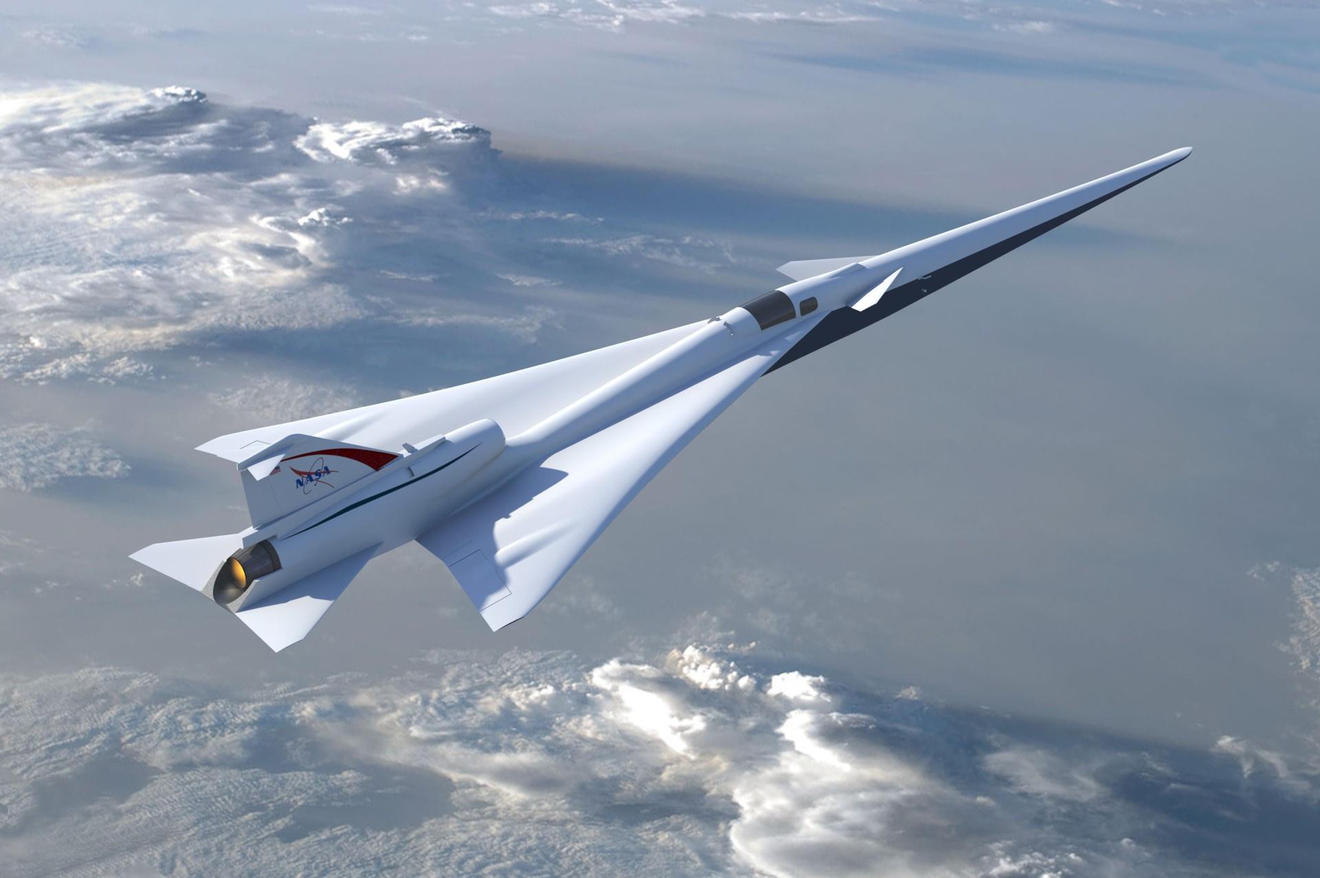 НАСА создаёт тихий сверхзвуковой лайнер с «мягким» звуковым ударом