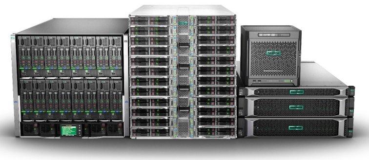 Компания HPE начала продажи новых серверов HPE ProLiant Gen10