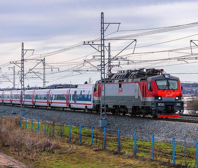 скоростной поезд Стриж из Москвы в Берлин