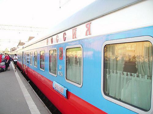 поезд 001 россия до владивостока из москвы