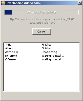 New Download Dialog: ReactOS