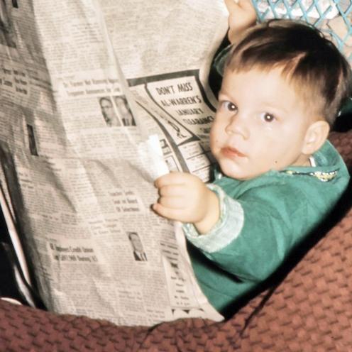 Ник Сабо в детстве