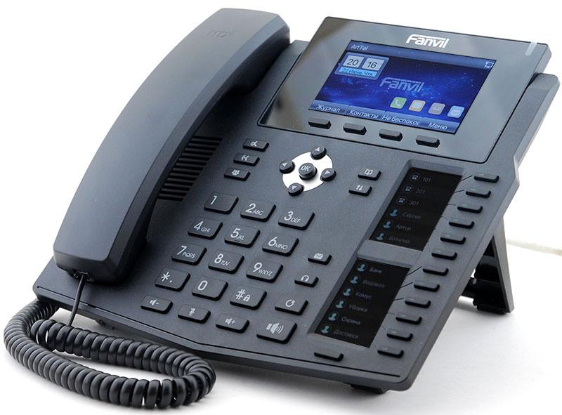 Новый IP-телефон Fanvil X6