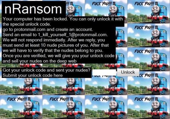 Криптолокер nRansom вымогает обнажённые фотки
