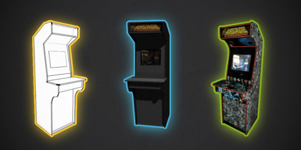 Контра, Батлтодс и Мортал Комбат в одной коробке. История о том, как я сделал игровой автомат и поставил его в офисе