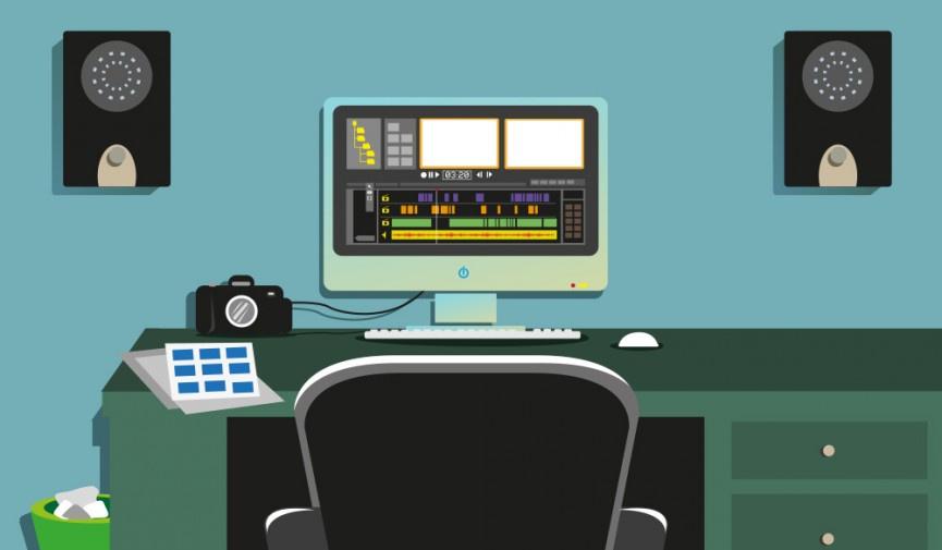 Создание простого аудиоредактора
