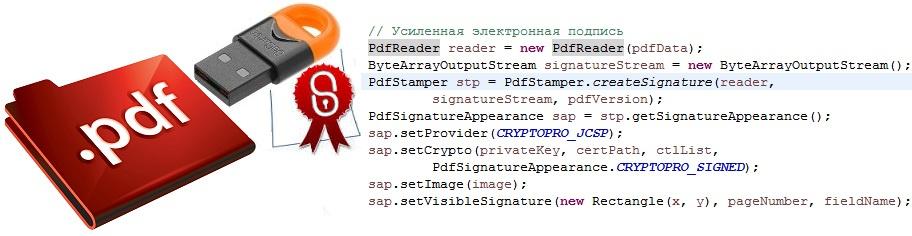 Как на Java c помощью КриптоПро подписать документ PDF