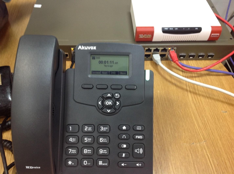 Опыт поднятия IP телефонии в отеле
