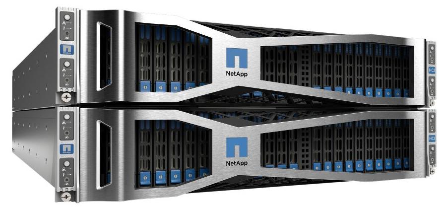 NetApp HCI ─ гиперконвергентная система нового поколения для работы с данными