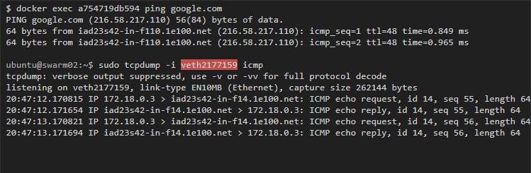 ping google.com