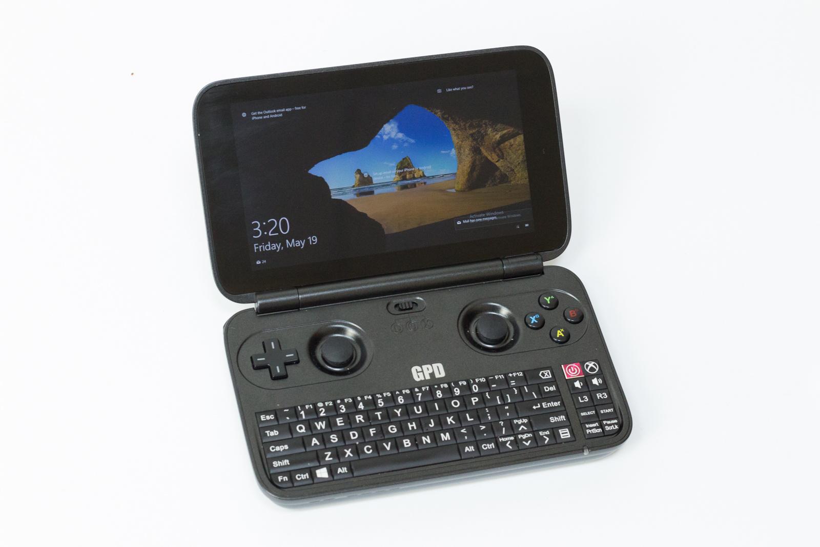 """GPD Win — исследуем миниатюрный ноутбук с диагональю 5.5"""", предназначенный для игр и эмуляторов"""