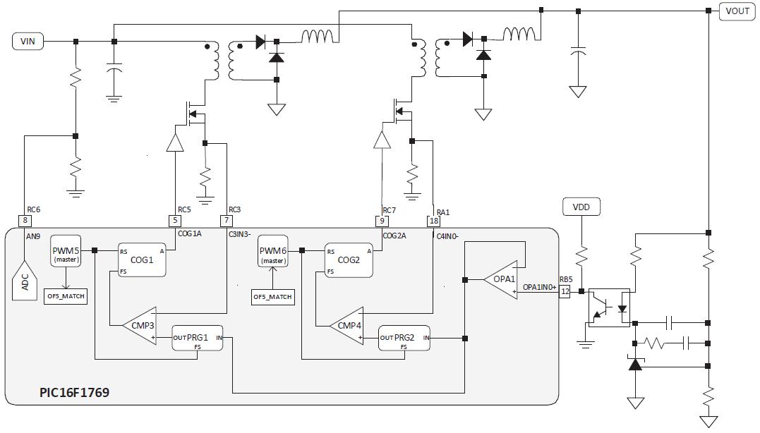 50 оттенков ПНЯ*. Микроконтроллеры в импульсных источниках питания. Часть 2