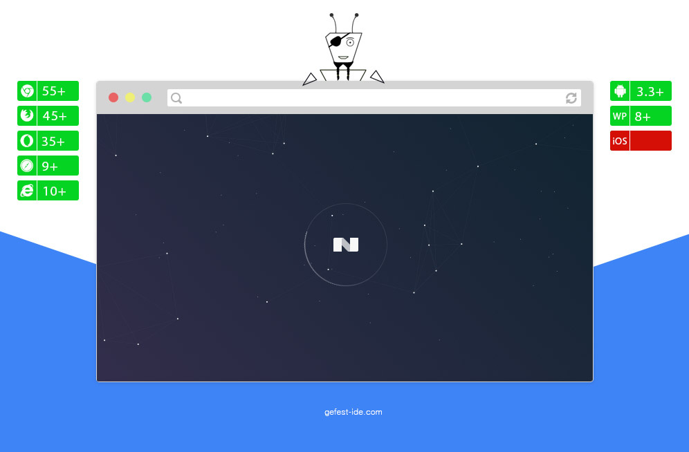 Preloader на css, js и svg - Prism Loading Screen