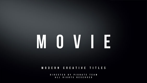 Movie l Modern Titles - 2