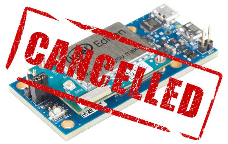 Intel отказывается от Edison, Galileo и Joule