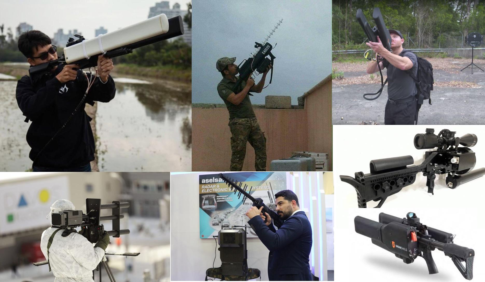 Ружья против дронов: зарубежные и отечественные