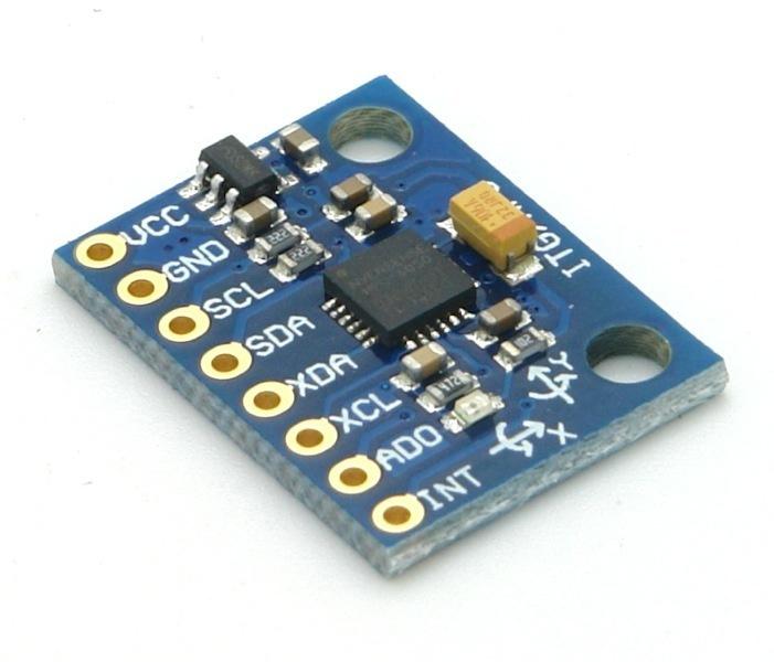 MPU6050 GY-521 Breakout Arduino Mega 2560