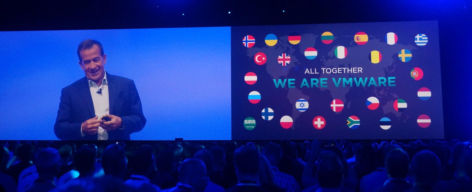 Конференция VMworld 2017 Europe. День 1