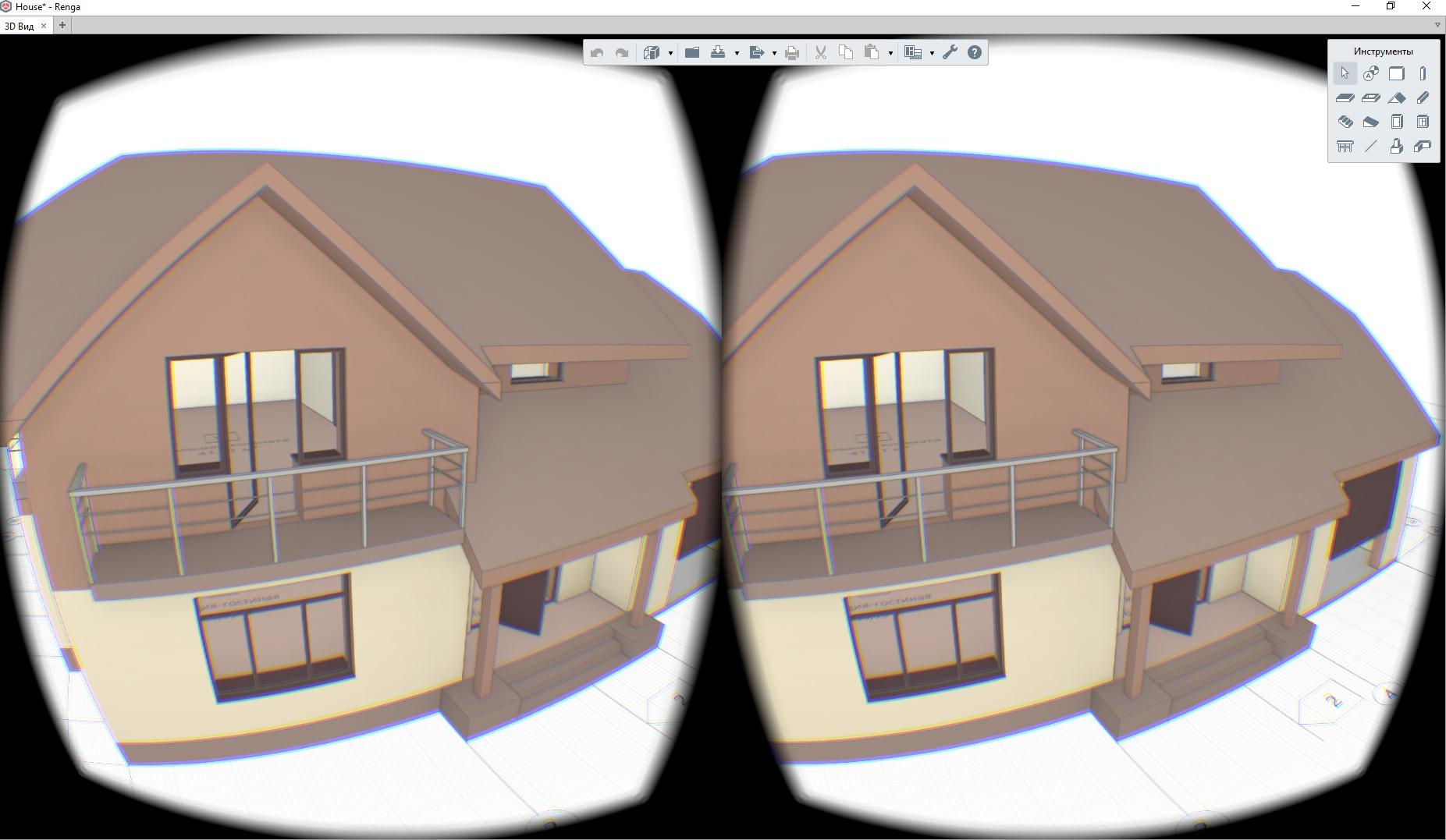 Интеграция Oculus Rift в десктопное Direct3D приложение на примере Renga