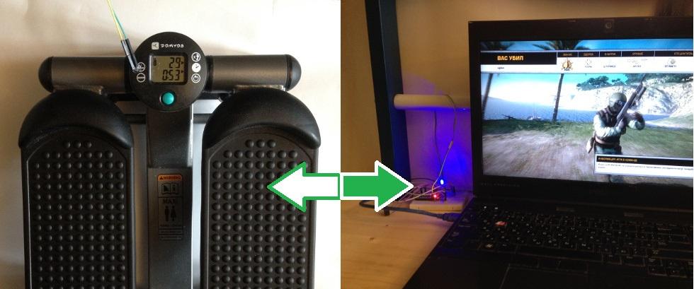 Подключаем спортивный тренажёр к компьютеру и перестаём отращивать жир, играя в компьютерные игры