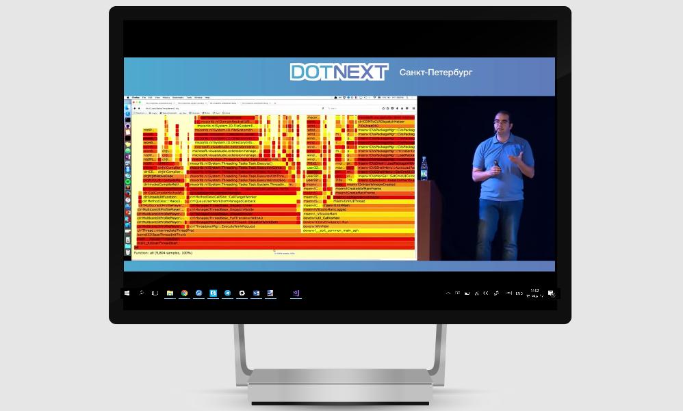 Открытая трансляция DotNext 2017 Piter: Jon Skeet, Sasha Goldshtein и Андрей Акиньшин в прямом эфире